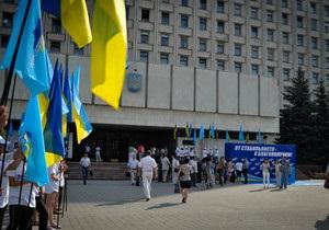ЦВК зареєструвала кандидатів у депутати від ПР