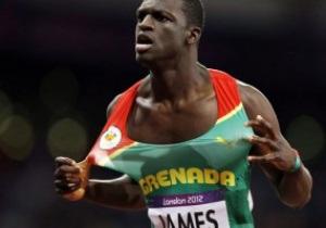 Спринтер из Гренады выиграл забег на дистанции 400 м на Олимпиаде-2012