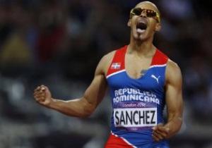 Феликс Санчес победил на дистанции 400 м с барьерами на Олимпиаде-2012