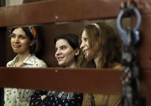 Учасниці Pussy Riot у суді наполягають на політичних мотивах своєї акції