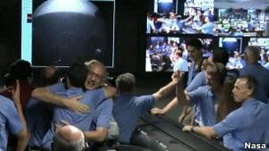 Американський марсохід успішно приземлився на Червоній планеті