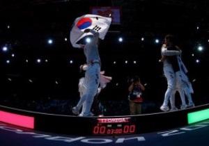 Южная Корея берет золото Олимпиады в сабле