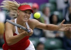 Марія Шарапова перемогла Марію Кириленко і вийшла у фінал жіночого тенісного турніру