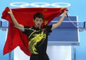 Олимпиада: Китай берет очередное золото в настольном теннисе