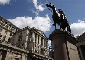 Банк Англії зберіг ставку та обсяги викупу активів незмінними