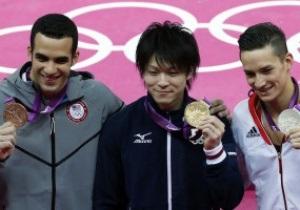 Гімнастика: Японець виграв золото у багатоборстві, українець став четвертим