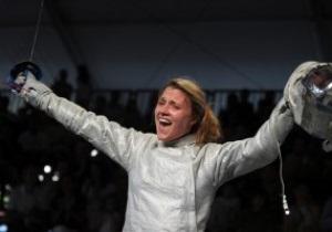 Фехтование. Ольга Харлан выходит в четвертьфинал Олимпийского турнира