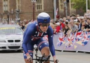Американка Крістін Армстронг завоювала золото Олімпіади-2012 у велогонці з роздільним стартом