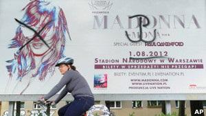 У Польщі протестують проти концерту Мадонни