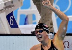 Плавание. Американка Шмитт выигрывает золото с олимпийским рекордом