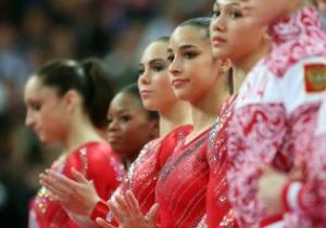 Гимнастика. Сборная США завоевывает первенство в командном многоборье