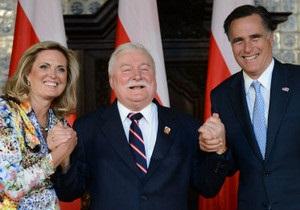 Польська Солідарність бойкотувала візит до Гданська Мітта Ромні