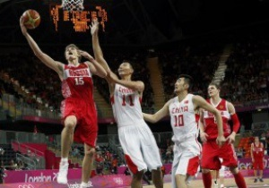 Олимпийский баскетбол. Россия громит Китай при пустых трибунах