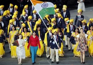 На відкритті Олімпіади делегацію Індії очолила стороння жінка