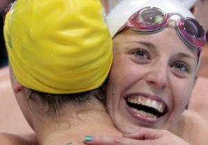 Плавание: австралийки выиграли эстафету с новым Олимпийским рекордом