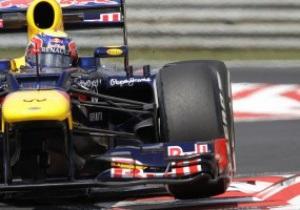 Уэббер выиграл третью практику Гран-при Венгрии