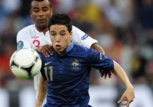 Відлуння Євро-2012. Гравці збірної Франції Менез і Насрі дискваліфіковані