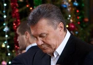 Янукович висловив співчуття у зв язку з десятою річницею Скнилівської трагедії