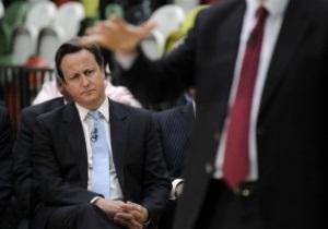 Кемерон попросив пробачення у представників КНДР за скандал з прапором у Лондоні-2012