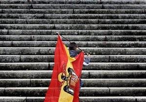 Ступінь ризиків за боргами Іспанії досягнув історичного максимуму