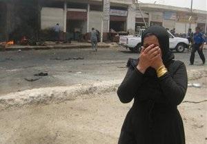 В результаті серії вибухів в передмісті Багдада загинули щонайменше 16 осіб