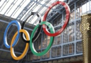 Українських олімпійців провели на Ігри в Лондон