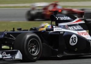 Мальдонадо стал лидером второй практики Гран-при Германии