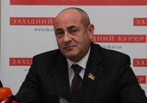 Лідер прикарпатських регіоналів піде на вибори як самовисуванець