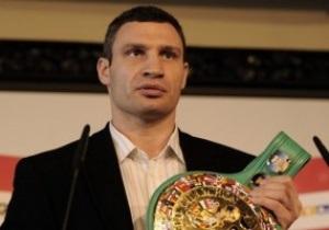 Виталий Кличко: Бой с Чарром в Москве – подарок для россиян