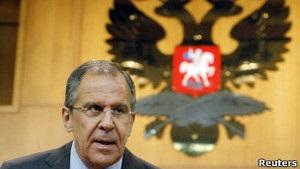 Лавров: Захід шантажує Росію щодо Сирії