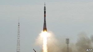 Російський корабель Союз вирушив до Міжнародної космічної станції