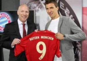 Хорватський форвард Манджукич офіційно став гравцем Баварії