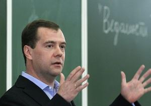 Медведєв порадив аграріям добре годувати міністра фінансів