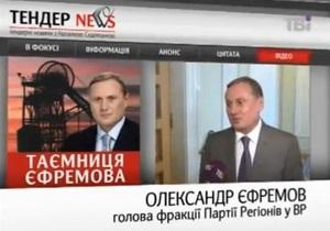 СМИ: Фирмы, связанные с главой фракции ПР, получили госзаказов на 1,5 млрд грн
