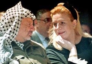 Розслідування смерті Арафата: його вдова подасть у Франції позов проти невідомої особи