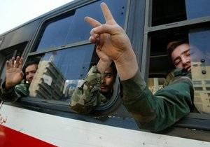 Росія не буде укладати із Сирією оборонних контрактів під час конфлікту