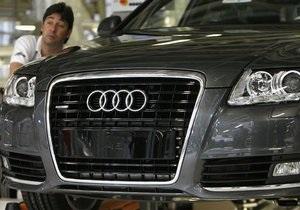 Audi збільшує обсяг продажів на тлі кризи