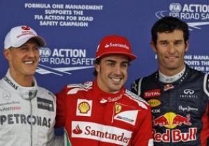 Алонсо: У кінці гонки Уеббер був набагато швидший за мене і заслужив перемогу