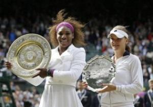 Теннис: Серена Уильямс в пятый раз в карьере выиграла Уимблдон