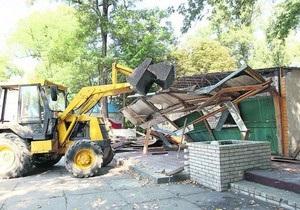 Суд Києва дозволив знесення комплексу будівель в Гідропарку