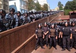 Бійці Беркута відступили від Українського дому