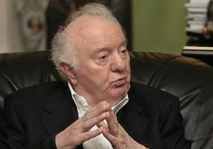 Шеварднадзе попросив вибачення за те, що передав владу Саакашвілі
