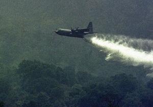 У США зазнав катастрофи військовий літак, який гасив лісові пожежі