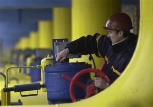 Росія знизила видобуток газу в 2012 році