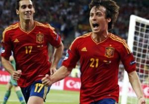 Тотальне домінування Іспанії. Статистика Євро-2012