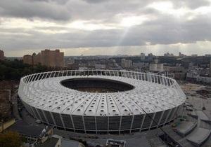 МВС: Біля НСК Олімпійський чоловік намагався провести політичну акцію