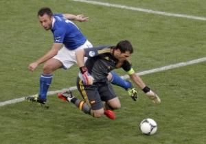 Цікава статистика. Фінал Євро-2012 Іспанія - Італія в цифрах
