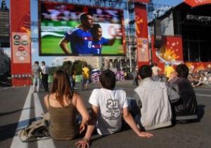 В день финала Евро-2012 киевская фан-зона будет работать до четырех утра