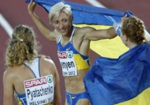 Украина завоевала золото на ЧЕ по легкой атлетике