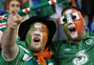 UEFA нагородить ірландських фанатів за підтримку збірної на Євро-2012